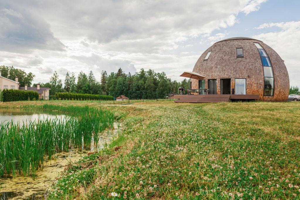 Купольный дом в Подмосковье от Verba Design, 240 м² || 01