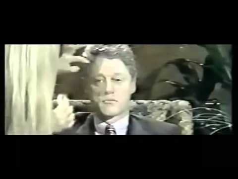 Bill Clinton mkultra hipnotizado