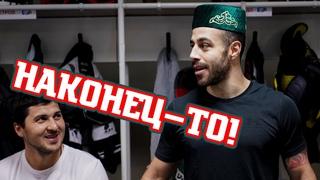 Тюбетейка у Ази! | Победная раздевалка «Ак Барса» после победы в «Зелёном дерби»