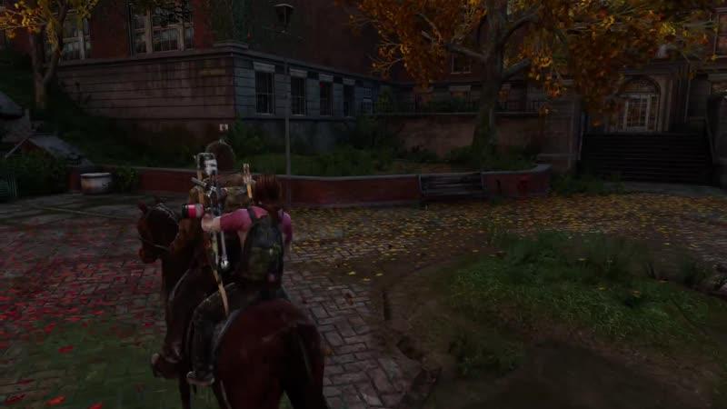 вырезанный материал из The Last of Us