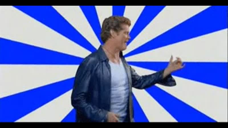 The awesomeness of the Hoff
