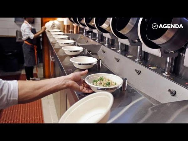 Роботизированный ресторан Spyce новый уникальный концепт общепита