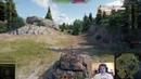 World of Tanks ИС 7 дедушка лупашит