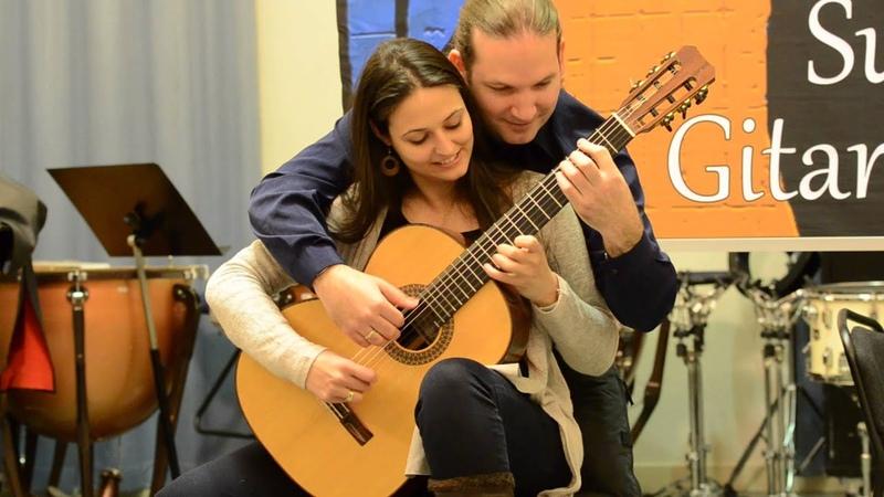 Rondo Alla Turca - Marco Tamayo Anabel Montesinos (4 hand guitar)