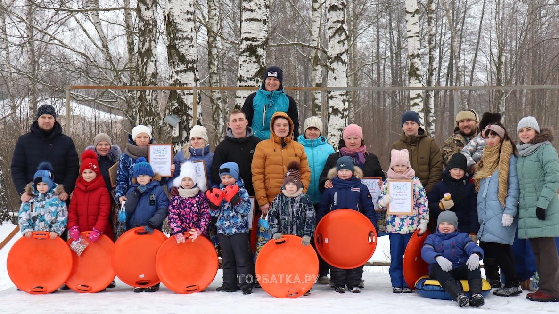 Зимние забавы по-новлянски