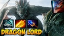 DRAGON LORD w Aghanim's Scepter