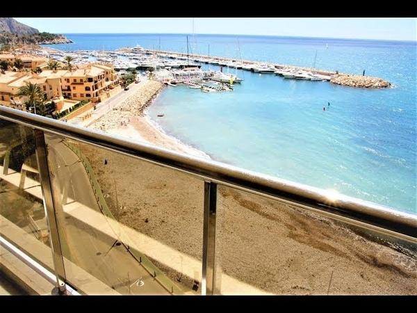 Appartement ✅ à vendre en 1ère ligne de plage à Altea en Espagne