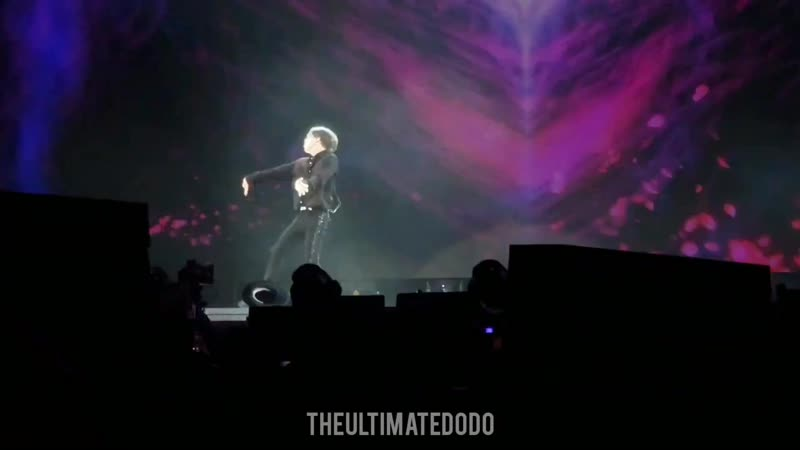 191113 Taemin Goodbye @ SuperM 슈퍼엠 We Are the Future Live Chicago Concert Fancam