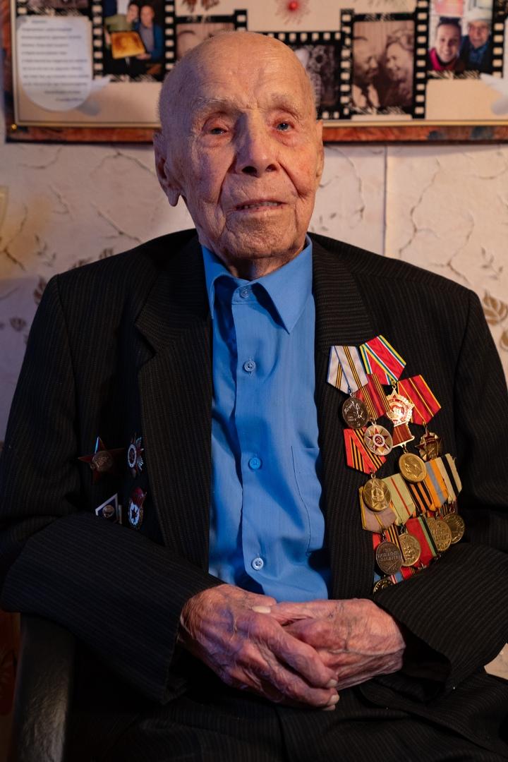Медаль для старейшего ветерана, изображение №10