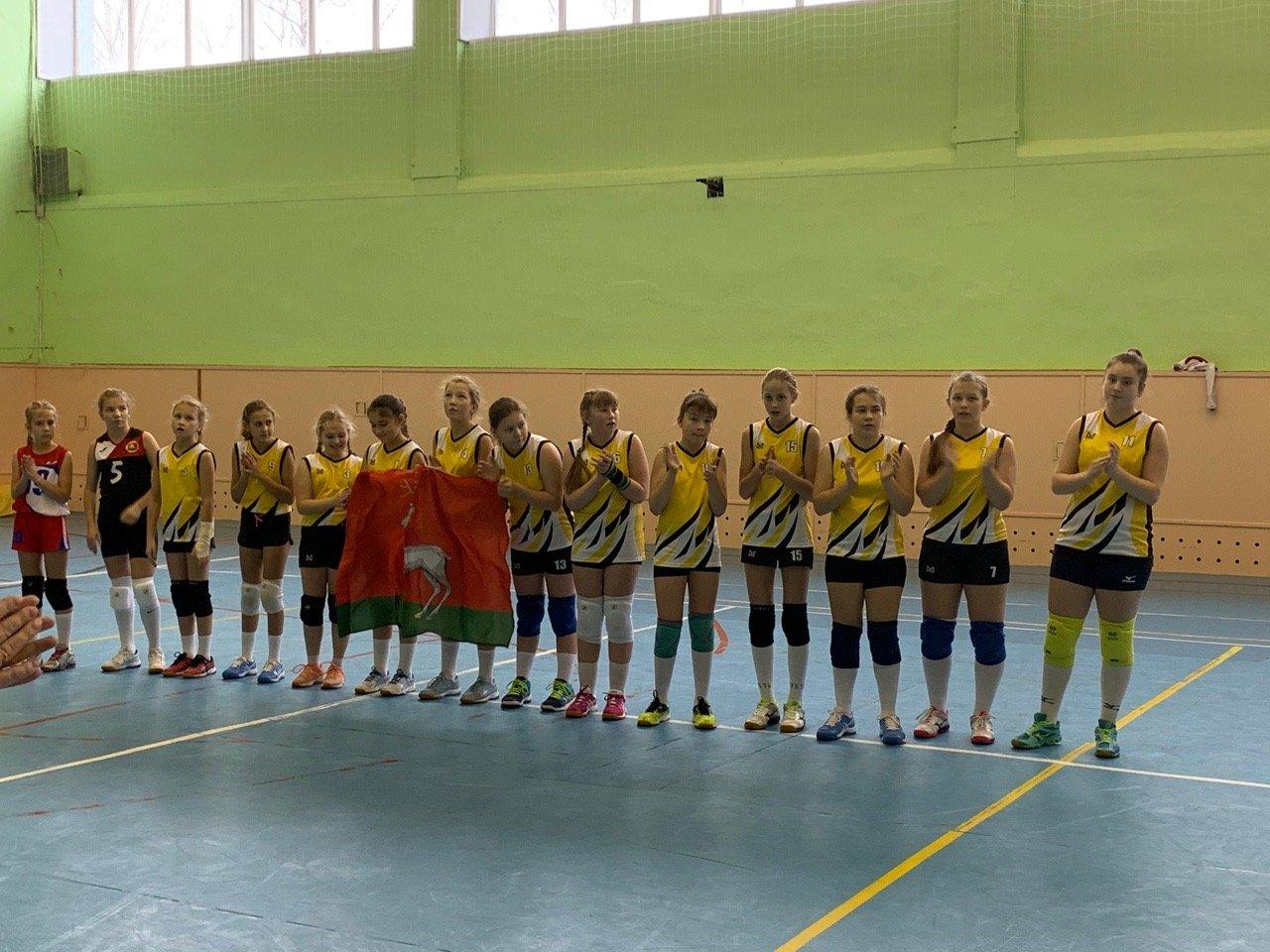 ВЯрославле прошел открытый турнир Фрунзенского района поволейболу среди команд девушек 2007–2008гг.р.
