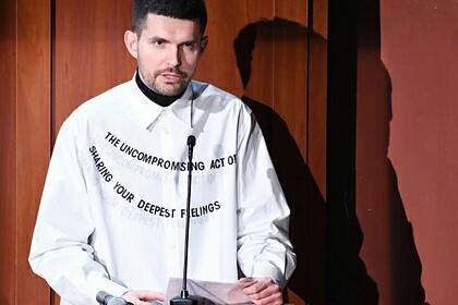 Российский рэпер Noize MC (настоящее имя Иван Алексеев)