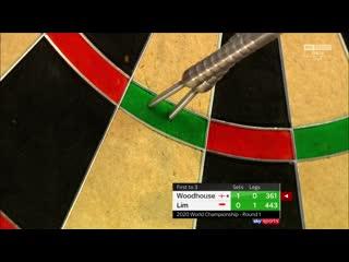 Luke Woodhouse vs Paul Lim (PDC World Darts Championship 2020 / Round 1)