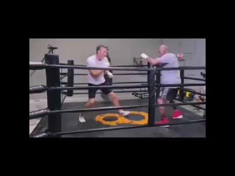Wladimir Klitschko vs Evander Holyfield non contact sparring
