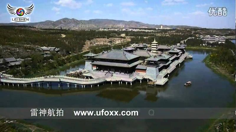 中国大同新城楼航拍剪辑 Datong(china)