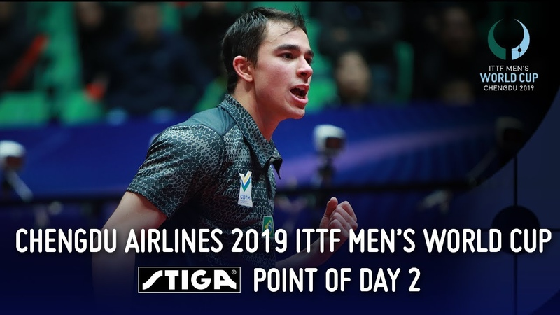 Simply Spectacular Stiga Point of the Day 2 Chengdu Airlines 2019 ITTF Men's World Cup