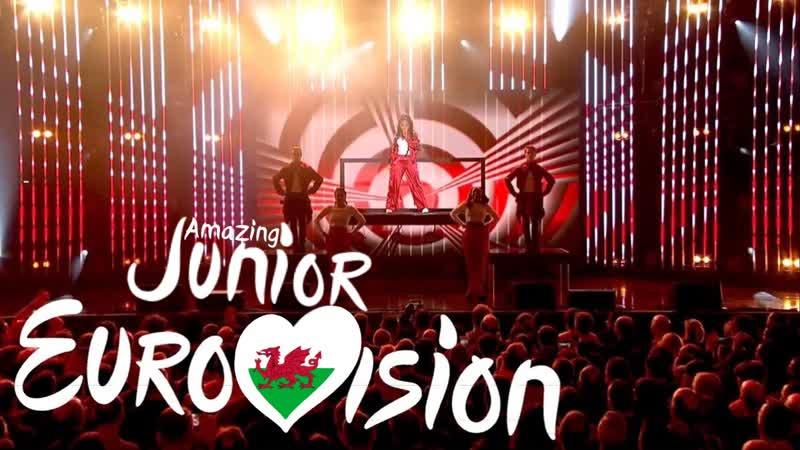 Asanda - Legends [Wales - Amazing Junior Eurovision Song Contest]