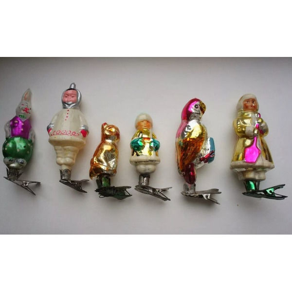 Советские елочные игрушки. Узнали свои .Спасибо за и подписку