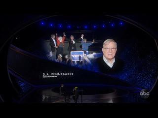 Oscars 2020 in memoriam billie eilish performance