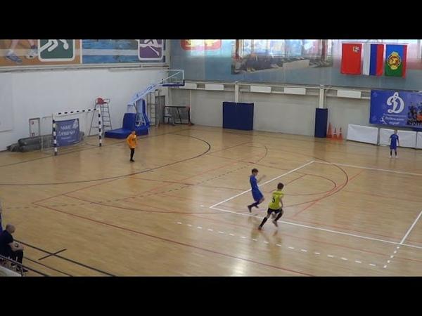 Динамо Пушкино 07-08 -СШ1 Солнечногорск 1-ый тайм