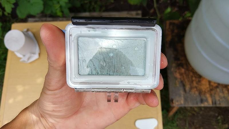 ОСТОРОЖНО Аквабокс для экшн камеры Xiaomi Yi 4k БЕРЕГИТЕ КАМЕРУ