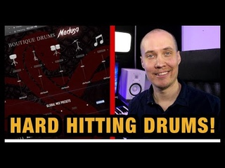 Medusa Drums - Hard Hitting Ensemble Drums (Review)