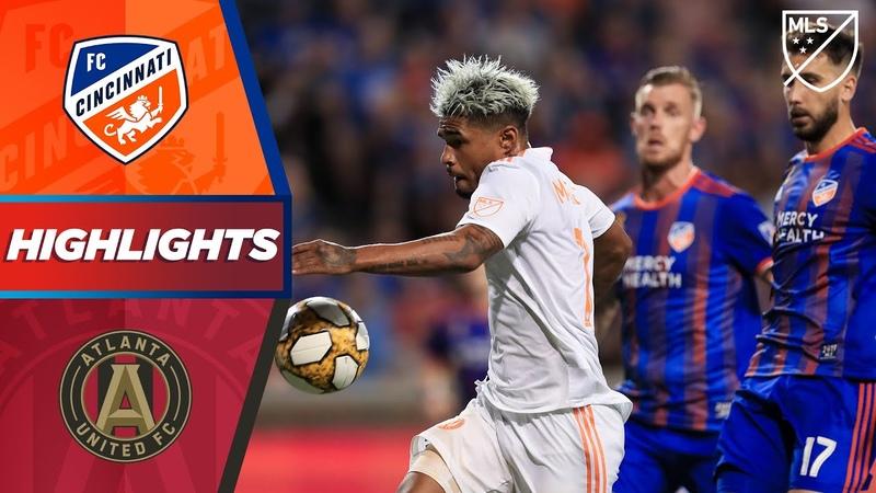FC Cincinnati vs Atlanta United FC Josef Martinez Sets A New Record HIGHLIGHTS