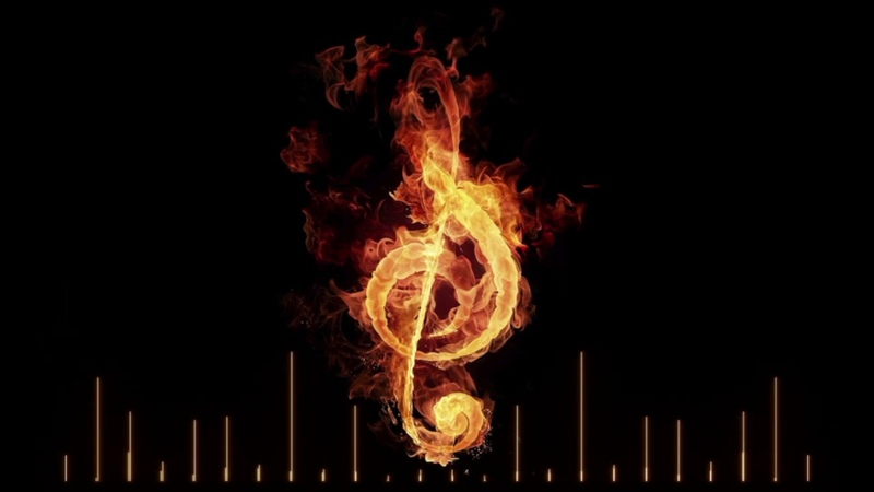 Music that Ignites a Fire in Your Soul Past in Flames