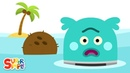 The Bumble Nums Make Far Out Floating Coconut Juice   Cartoon For Kids