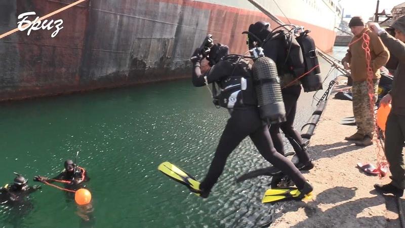 Курсанти Водолазної школи відпрацювали підводні спуски