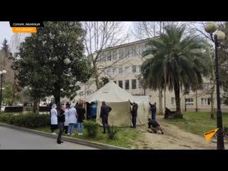 Сортировочный пункт для пациентов откроют в Республиканской больнице