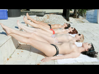 Nova Cane, Chloe Foster, Lola Fae 1080p, Porn, Teen, MILF, Orgy, Lesbian, Licking, Kissing, Fingering, OIled - BFFS