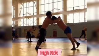 Тренировочная схватка Абдулрашид Садулаев - Даурен Куруглиев Сборы Кисловодск - 2020
