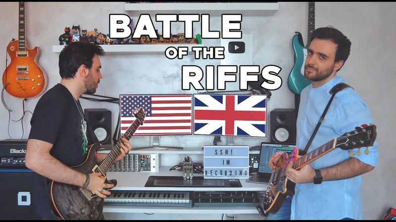 Battle of the RIFFS USA vs UK | Walrus Ages