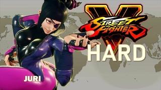 Street Fighter V - Juri Arcade Mode (HARD)
