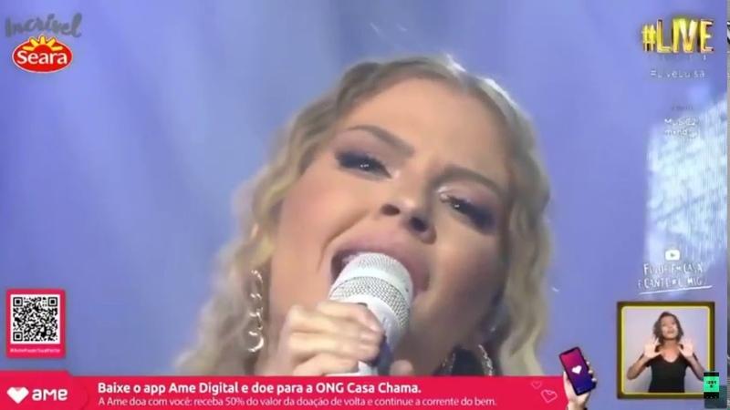 LUÍSA SONZA CANTA ALCIONE- Você me vira a cabeça (LIVE)