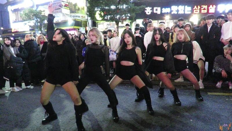 2018 11 24 연합댄스팀 에일린 Aileen Dance Performance 몸매 BBHMM Dr Pepper 홍대앞걷고싶은거리 연합버스킹