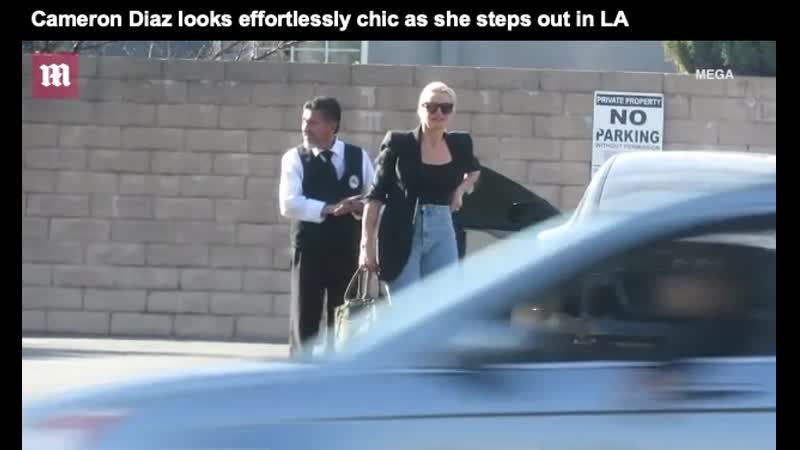 Cameron Diaz looks effortlessly chic as she steps out in LA
