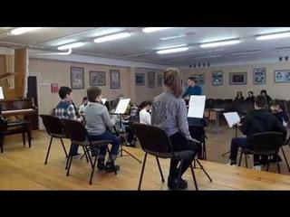 П. Чайковский  6 симфония (фрагмент) / School orchestra