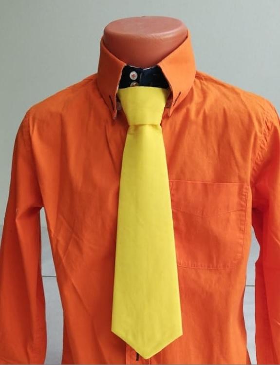 Пошив галстука для костюма Незнайки