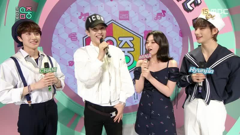 200509. Music Core! E 679. MC Mina Cut.