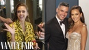 Behind Jessica Alba's Oscars Look, From Her Crystal-Dripped Gown to Matching Nails | Camera Ready