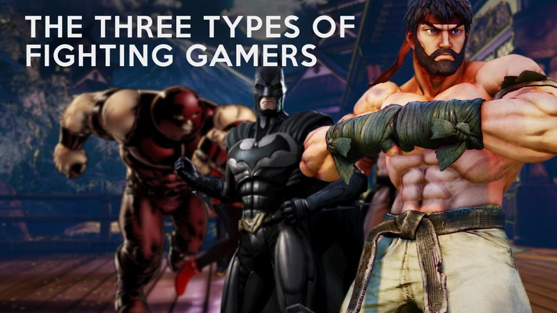 Analysis The Three Types of Fighting Gamers Laugh's Theory