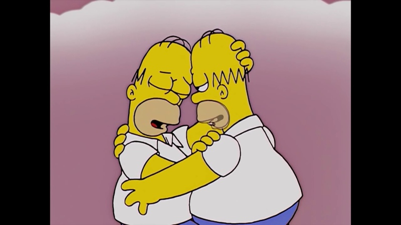Симпсоны Шурка и Сашка