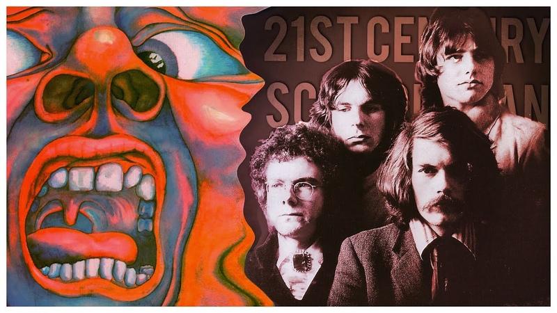 King Crimson 21st Century Schizoid Man Lyric Video