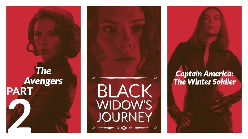 Black Widow's Journey The Avengers Captain America The Winter Soldier
