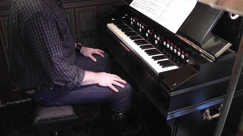 REINHARD Sonatine Nr 1 played on Mustel harmonium