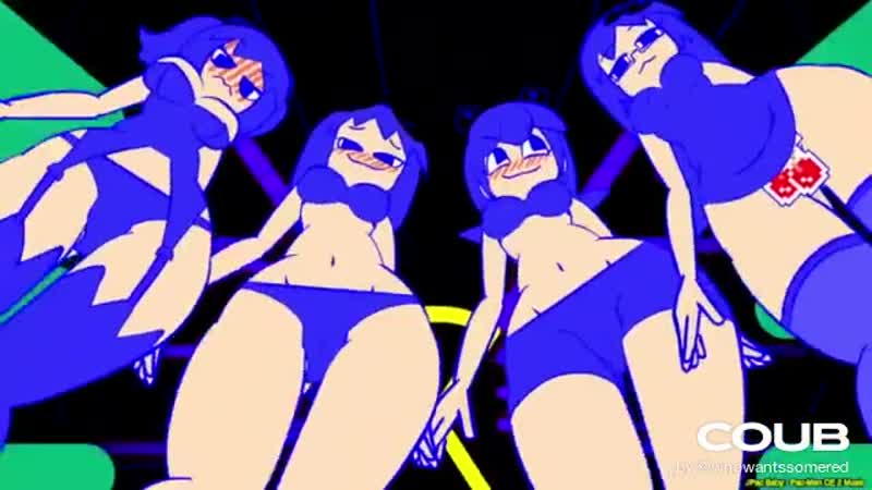 Inky, Blinky, Pinky, and Clyde's Ghostly Dance [Animation by Minus8]