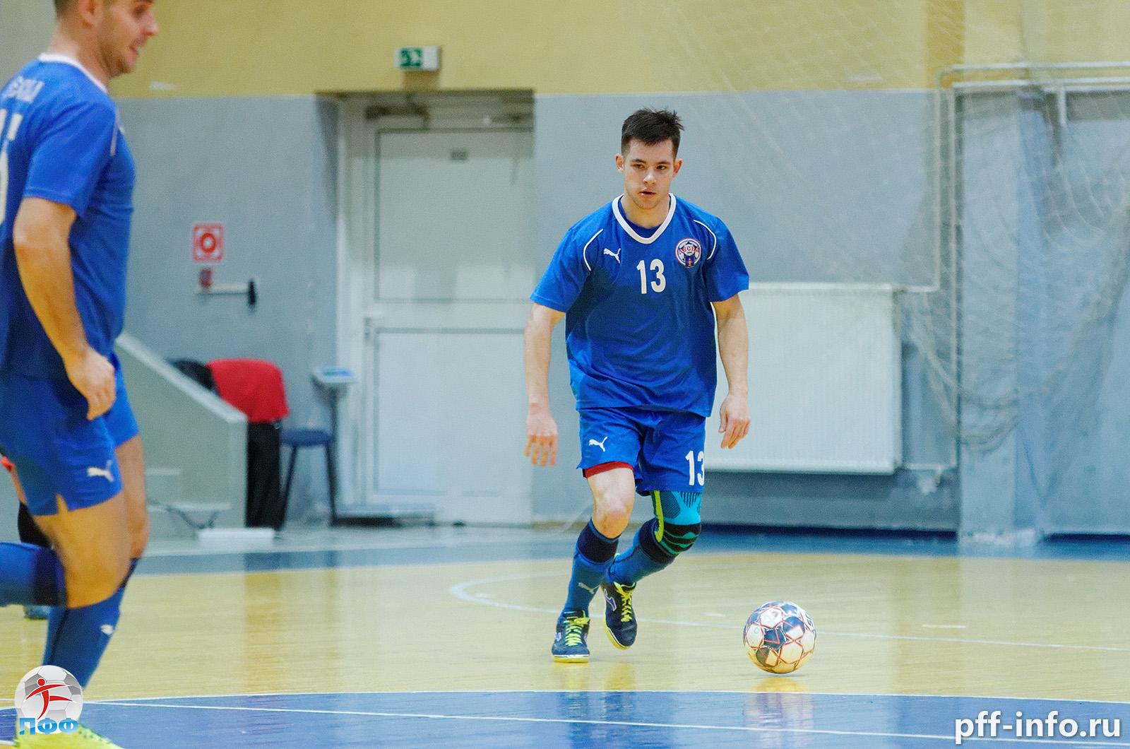 «Десна-Орбита» выиграла первый круг Чемпионата Подольска по мини-футболу
