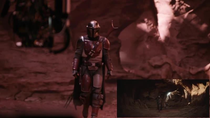 Мандалорец создание спецэффектов студией ILM к сериалу
