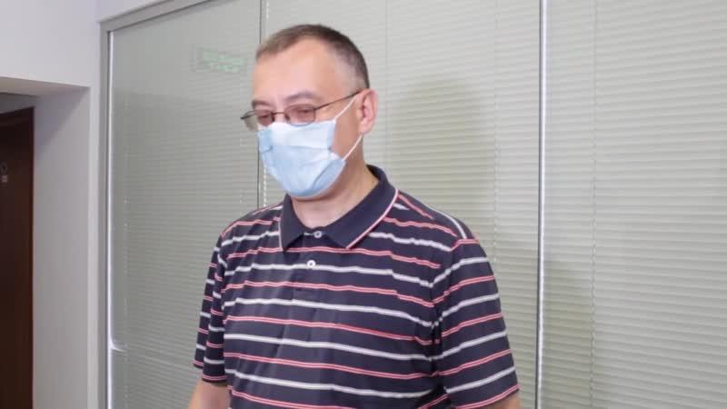 Директор Буйской ЦРБ Игорь Нефедов рассказал о СИЗах